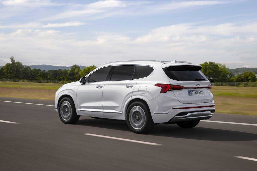 Prova Hyundai Santa Fe full hybrid 2021