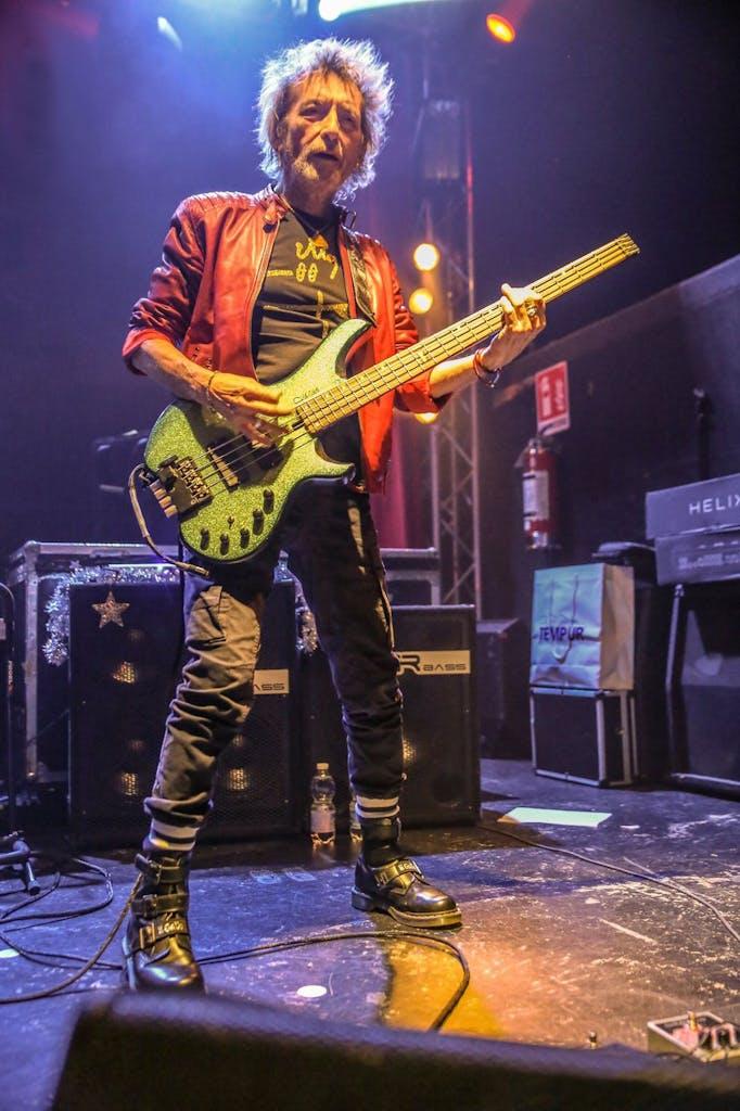 Claudio Golinelli Il Gallo Vasco Rossi bassista