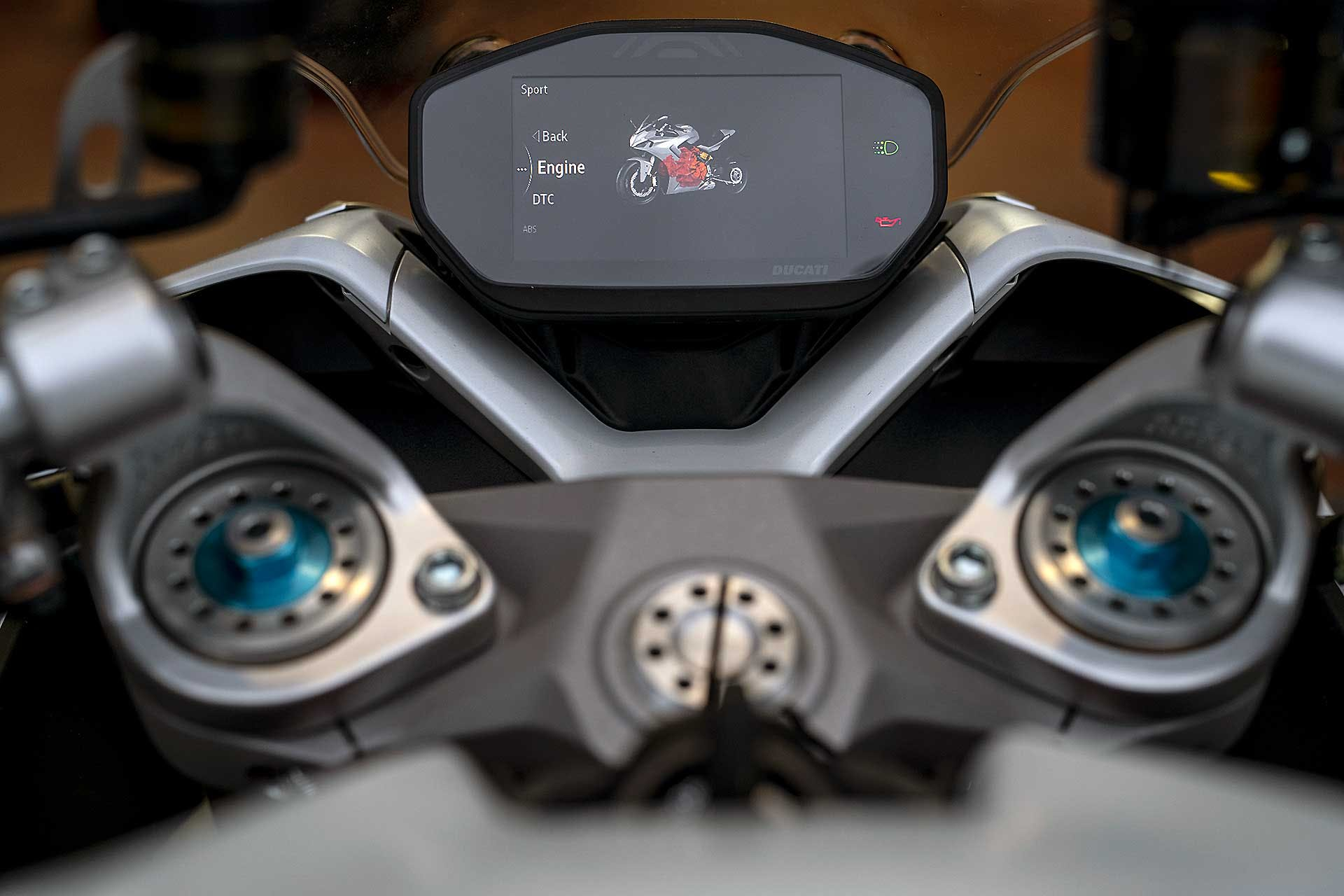 Ducati Supersport 950 S 2021 cruscotto