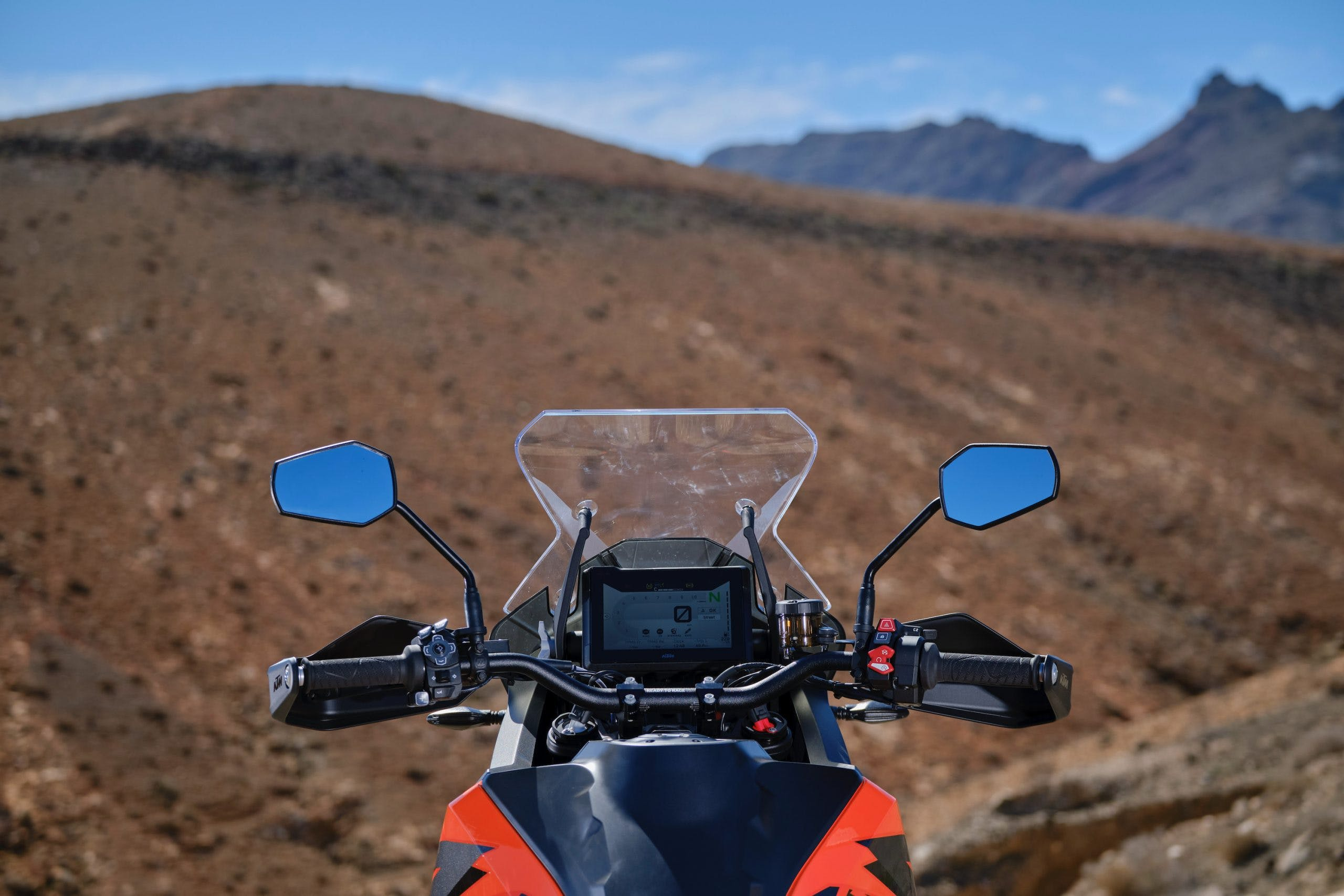 KTM-SUPER-ADVENTURE-1290-S-MY-2021 display tft digitale strumentazione