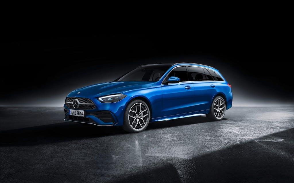 Mercedes Classe C 2021: Classe S in scala ridotta