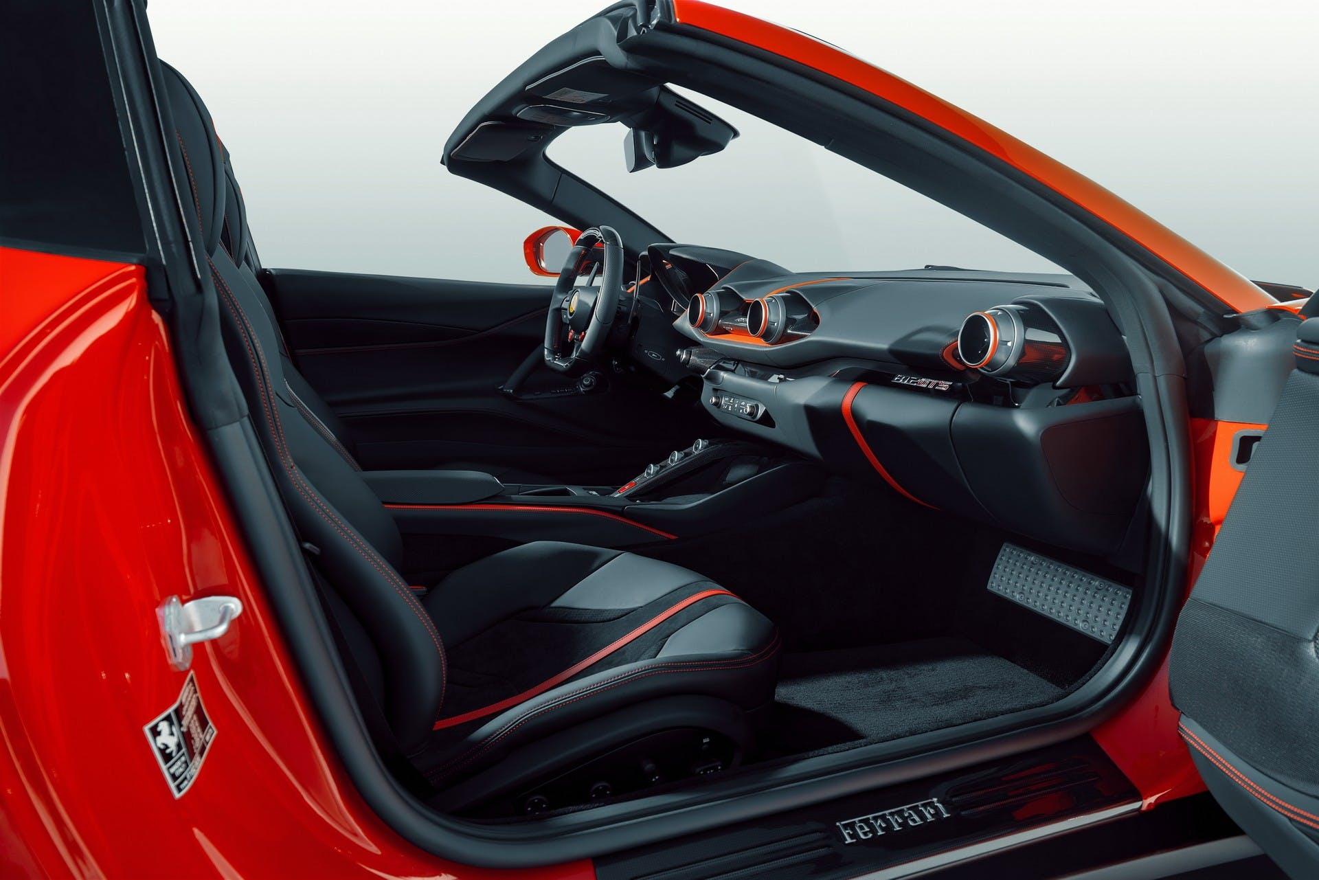 Ferrari 812 GTS by Novitec, particolare abitacolo