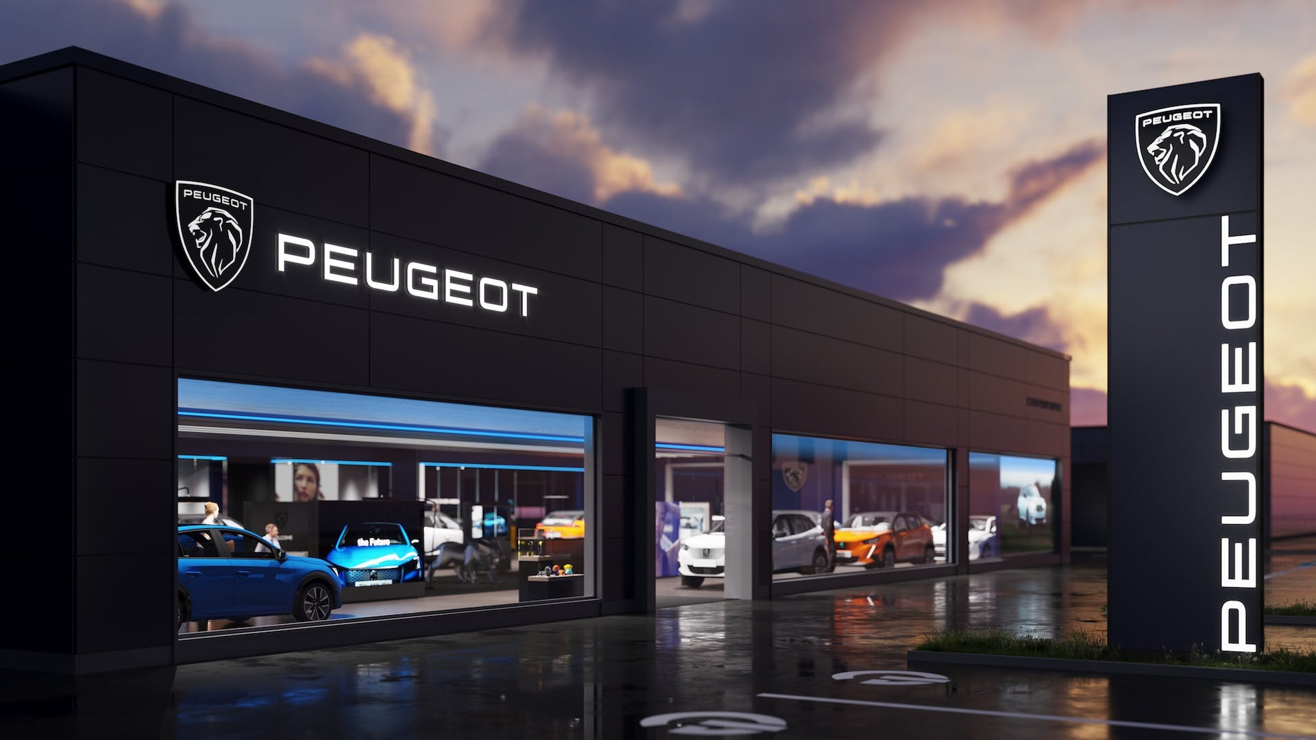 Peugeot logo 2021 - concessionaria