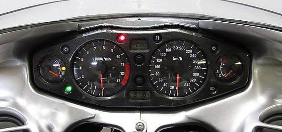 Suzuki Hayabusa 1999 Dashboard