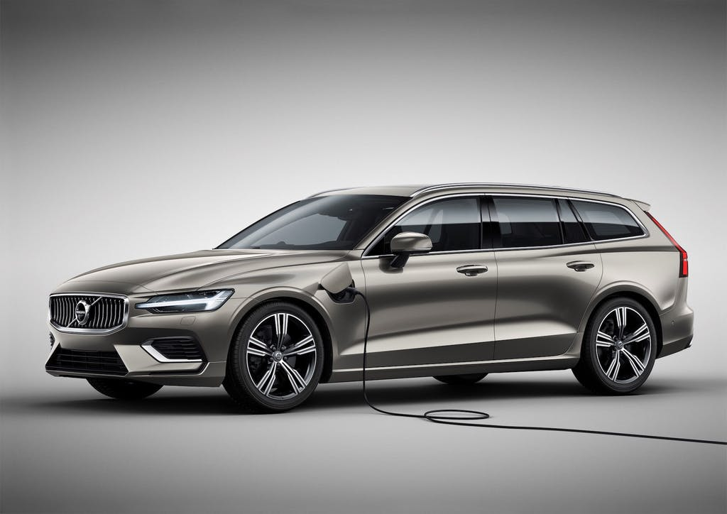 Volvo V60 recharge plug-in