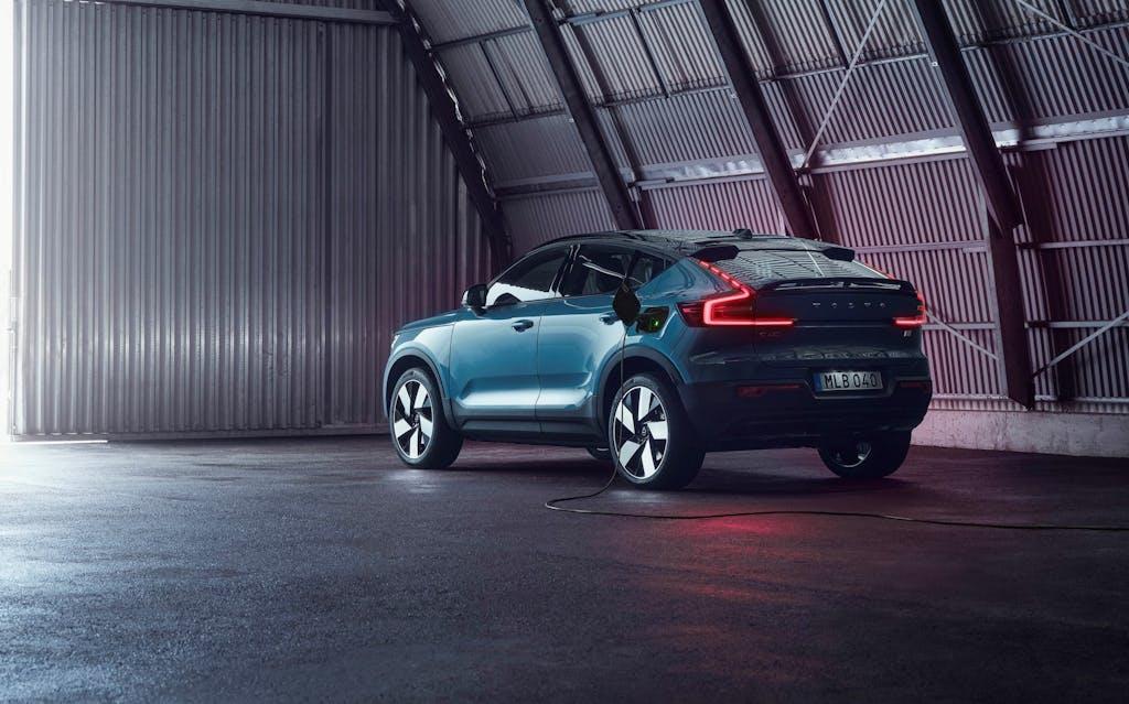 Volvo C40 Recharge, SUV-coupé elettrico per rispondere ad Audi, Mercedes, VW…