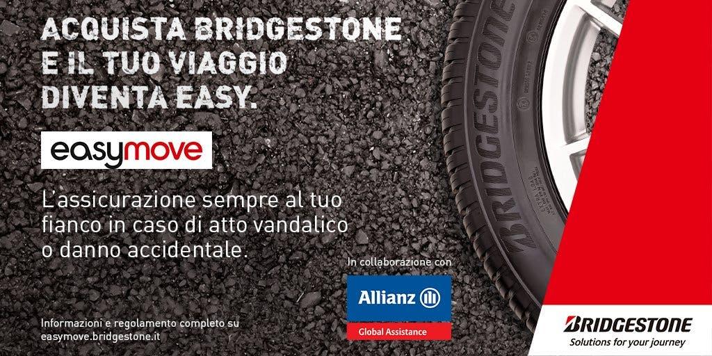 Bridgestone Easy Move: l'assicurazione per pneumatici
