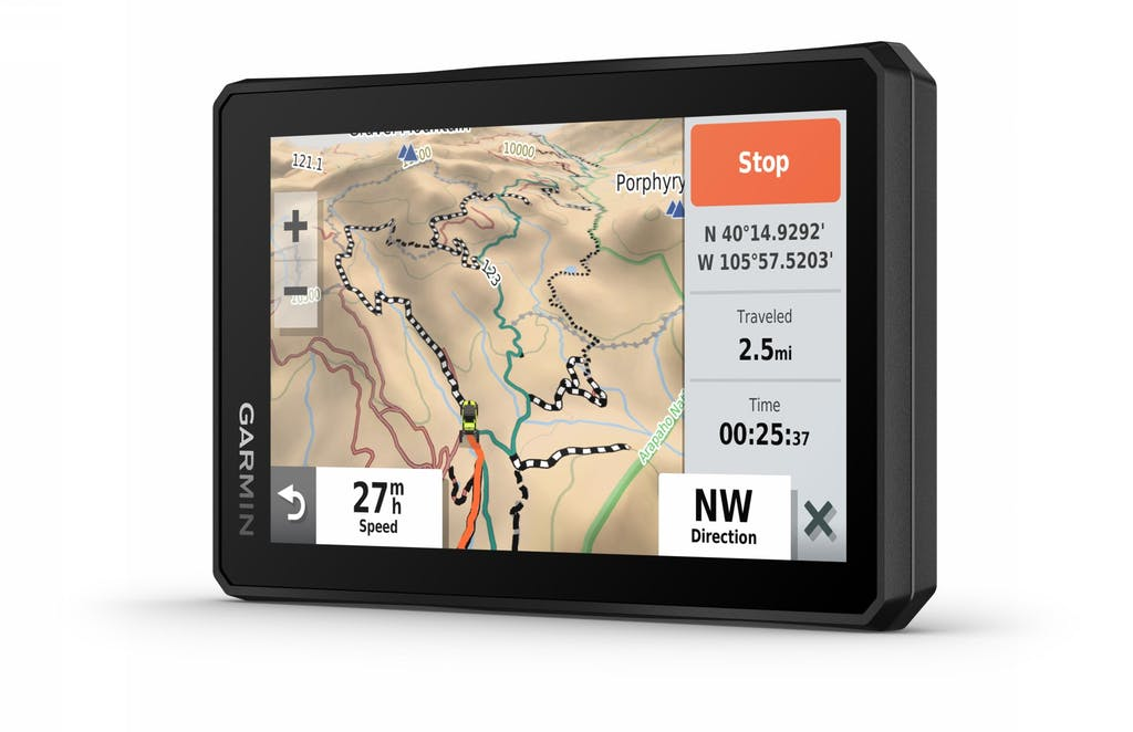 Garmin si fa in tre, per l'off-road