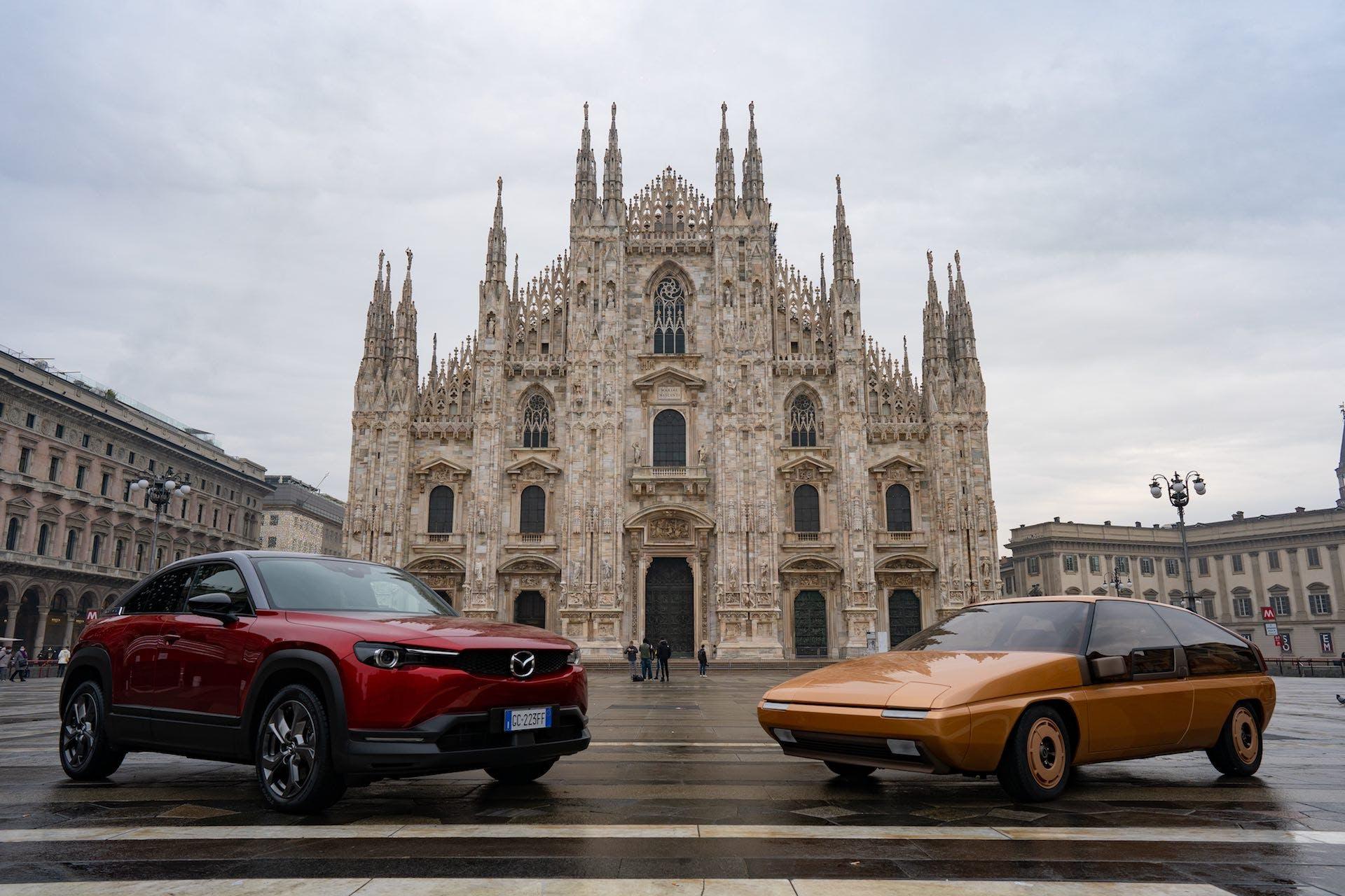 Mazda MX-81 e MX-30 Duomo Milano