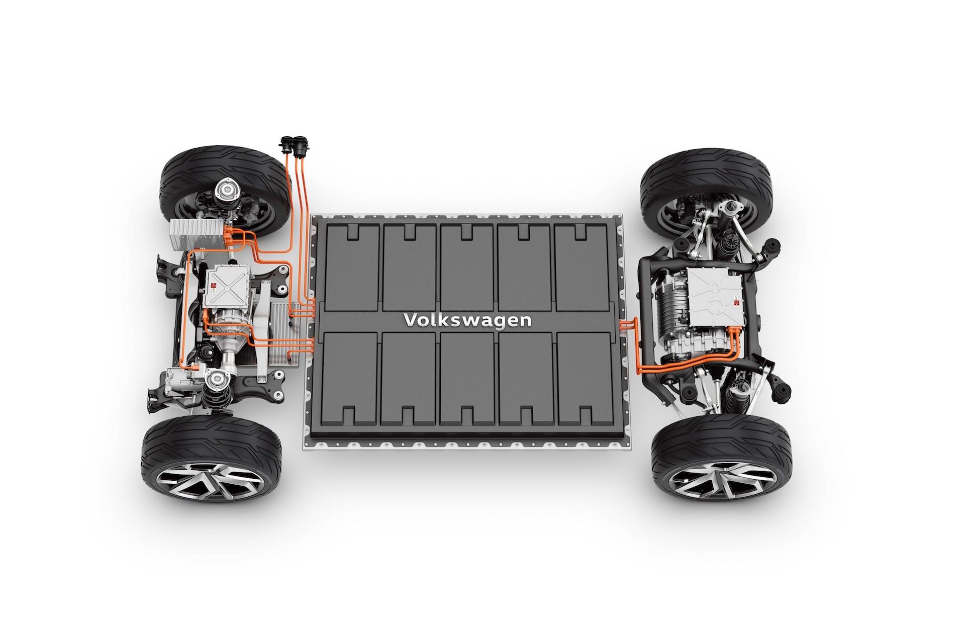 Volkswagen - piattaforma modulare MEB