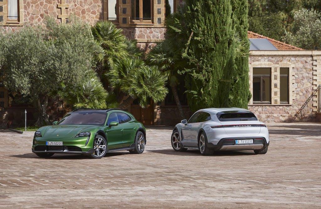 Porsche Taycan Cross Turismo: ecco le prime impressioni dal vivo