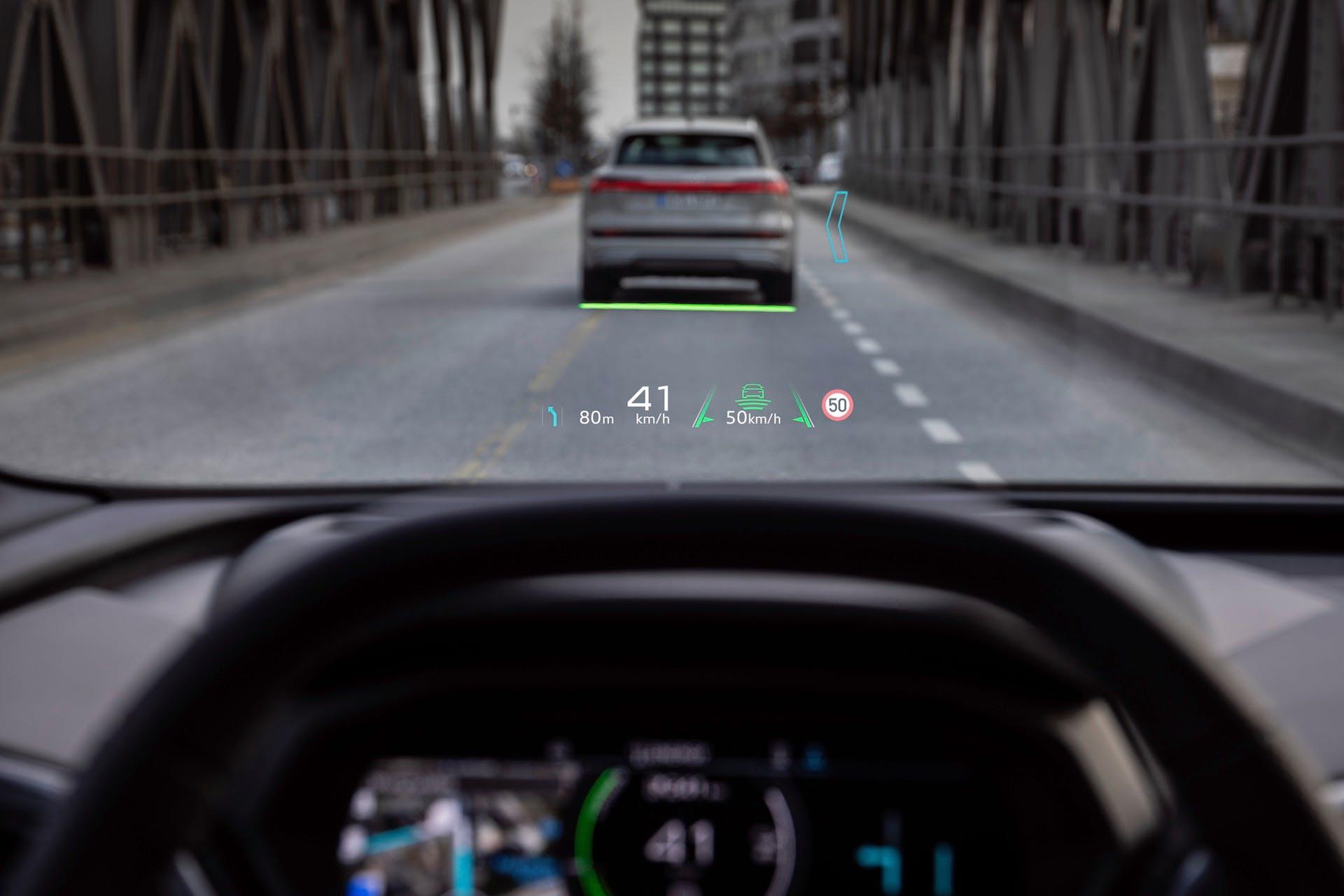 Audi Q4 e-tron - Head-up-Display