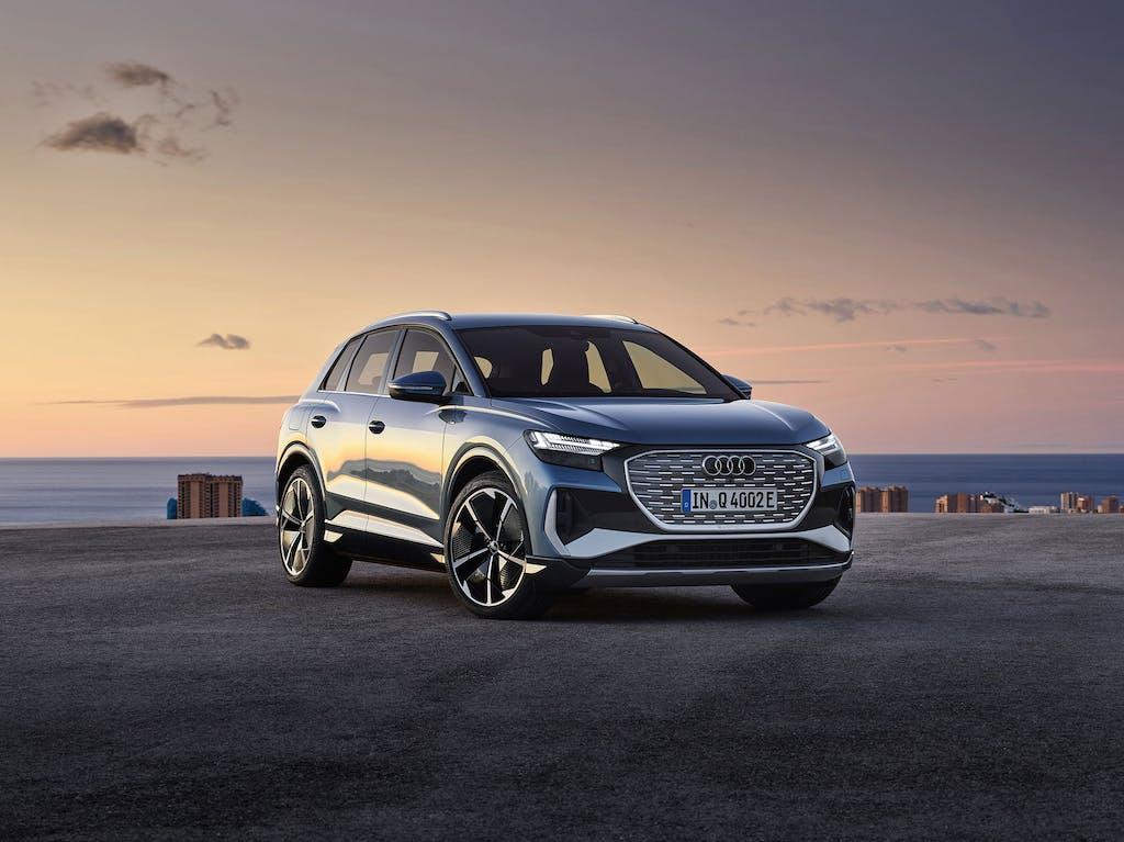 Q4 e-tron: il primo SUV medio elettrico di Audi