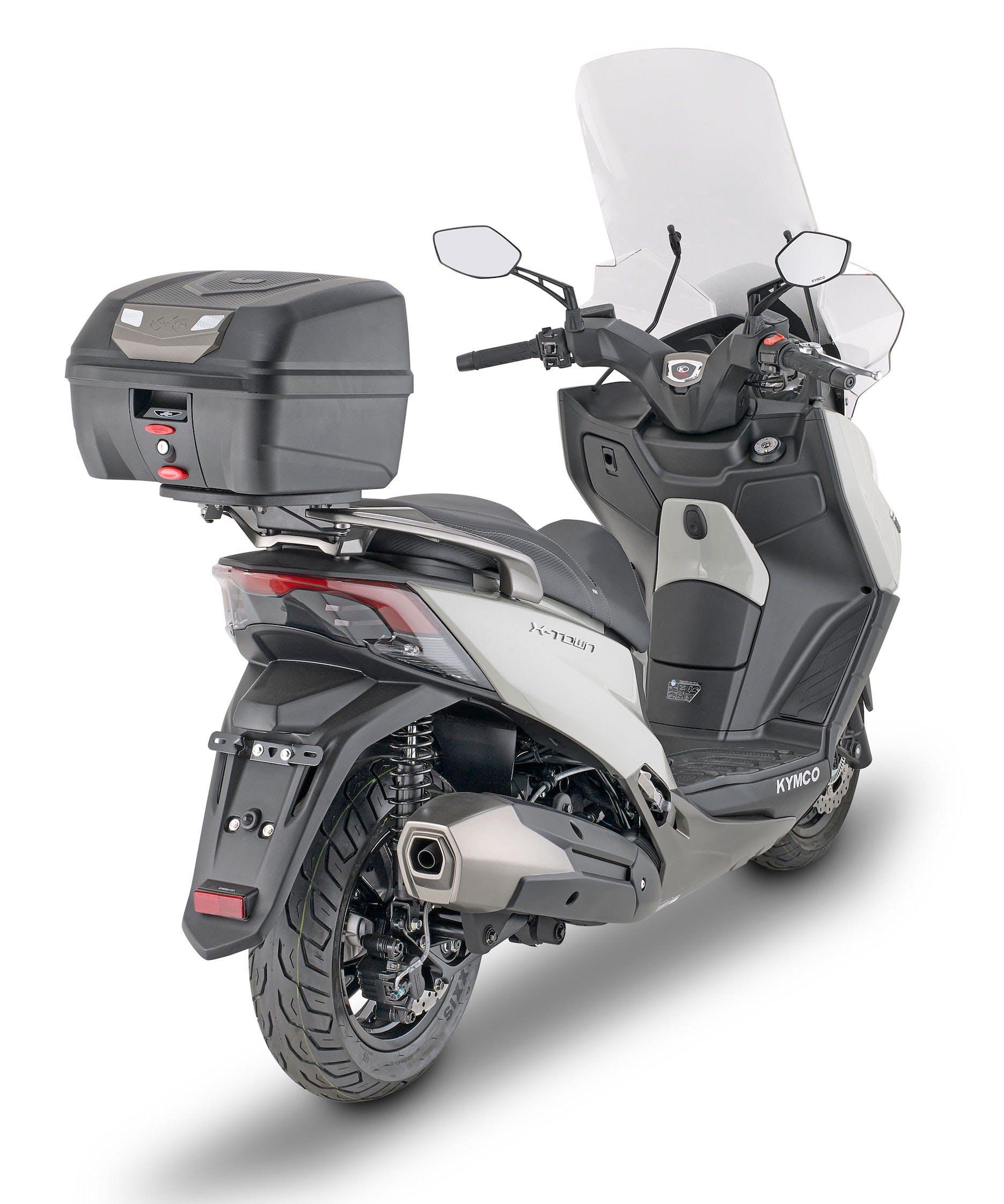 Bauletto Kappa Cube K320N montato su scooter.