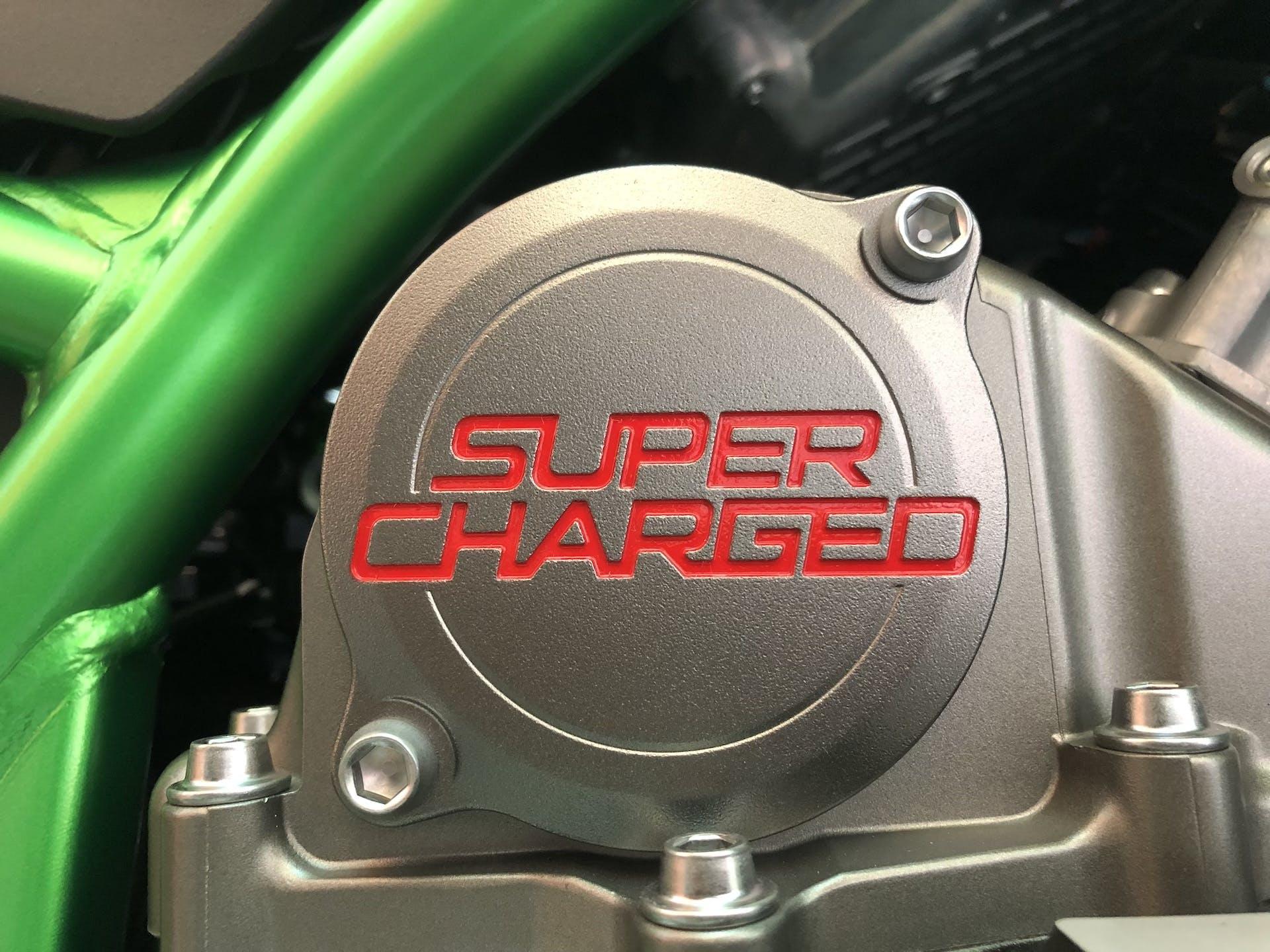 Supercharged Kawasaki Z H2 SE