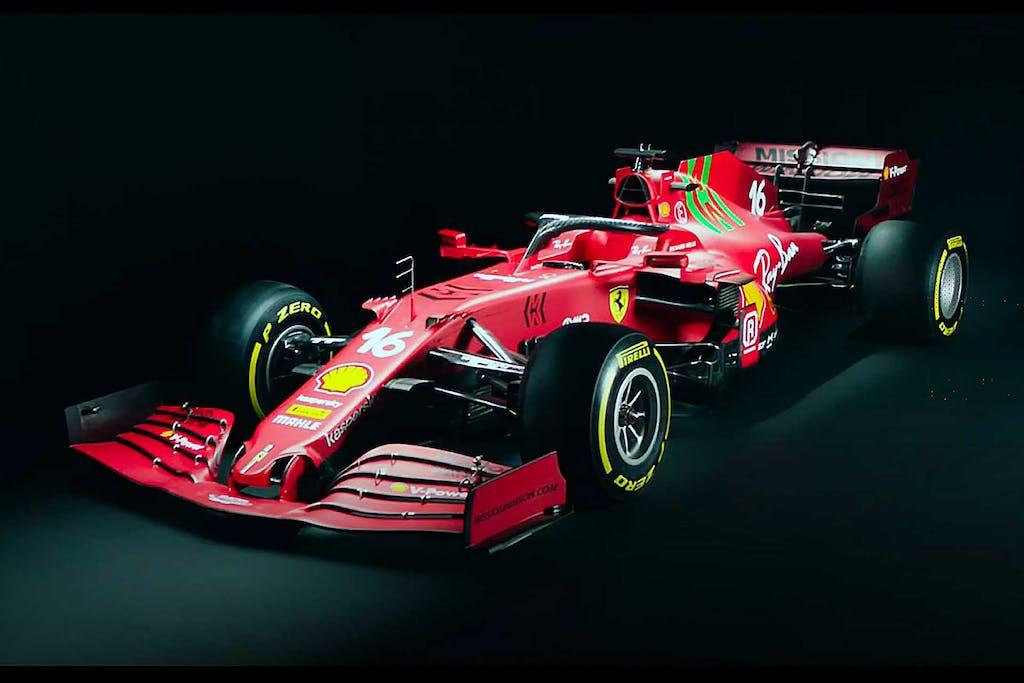La nuova Ferrari SF21