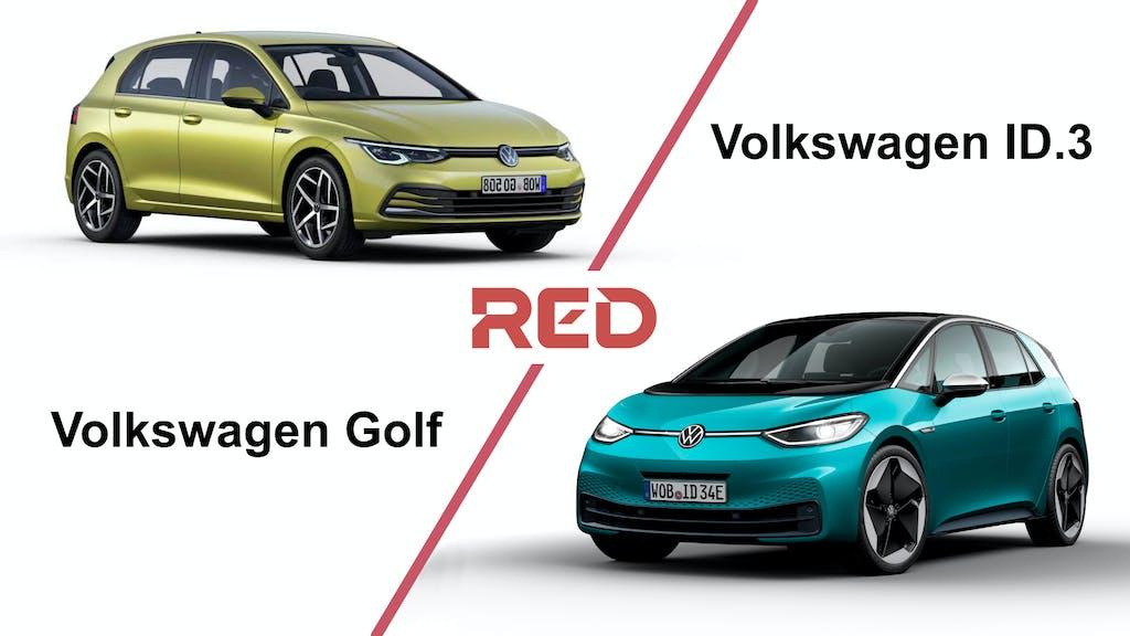 Confronto Volkswagen ID.3 vs Golf: a chi conviene cosa