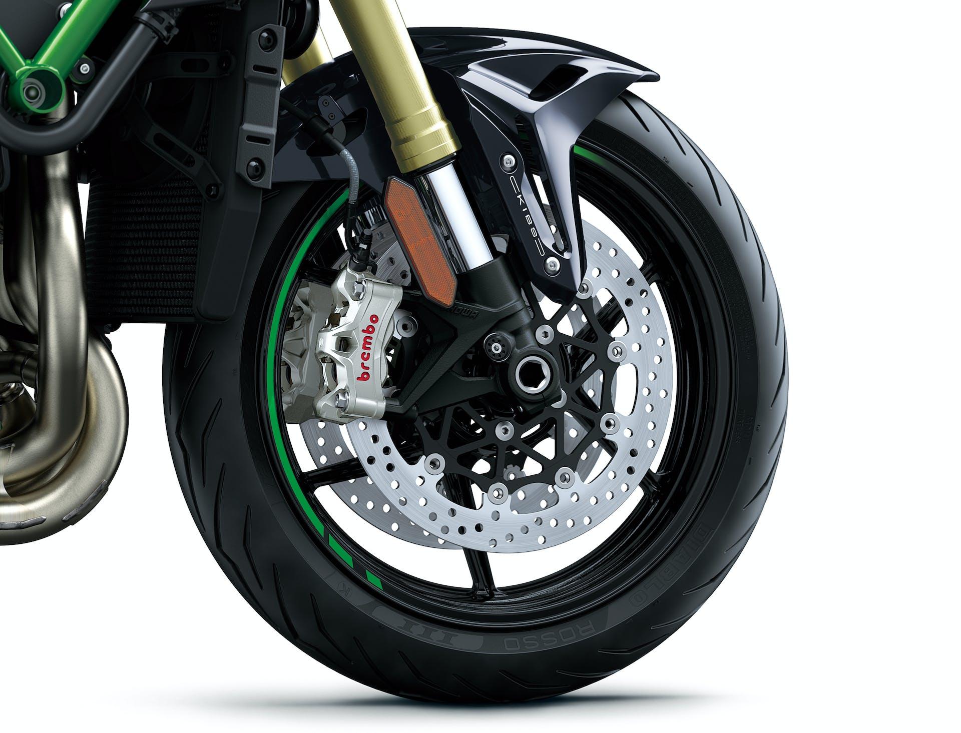 Pinze radiali monoblocco Brembo Stylema Kawasaki Z H2 SE