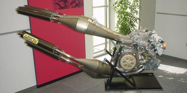 Motore 2 tempi Honda NSR 500