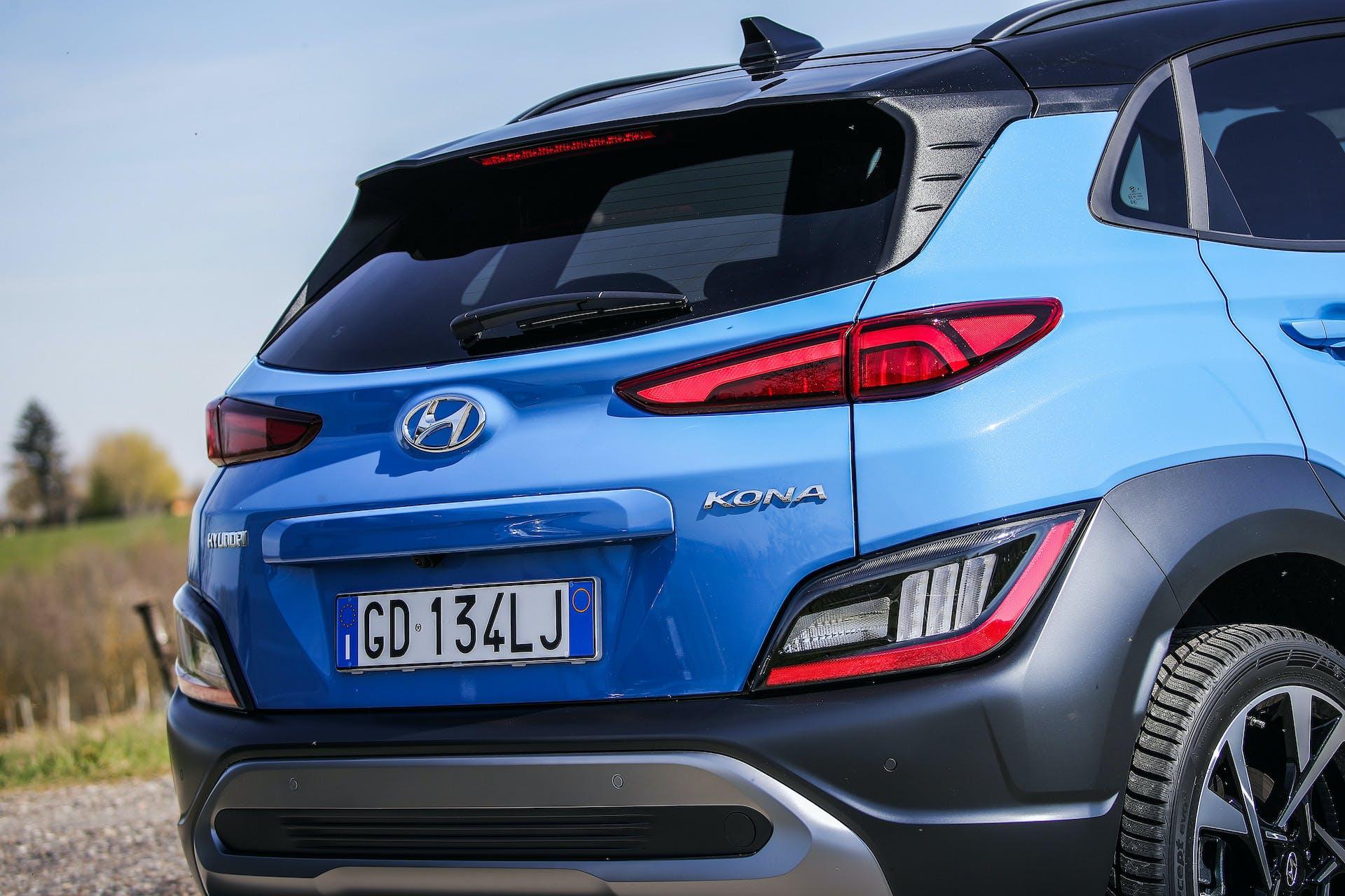 Hyundai KONA restyling test