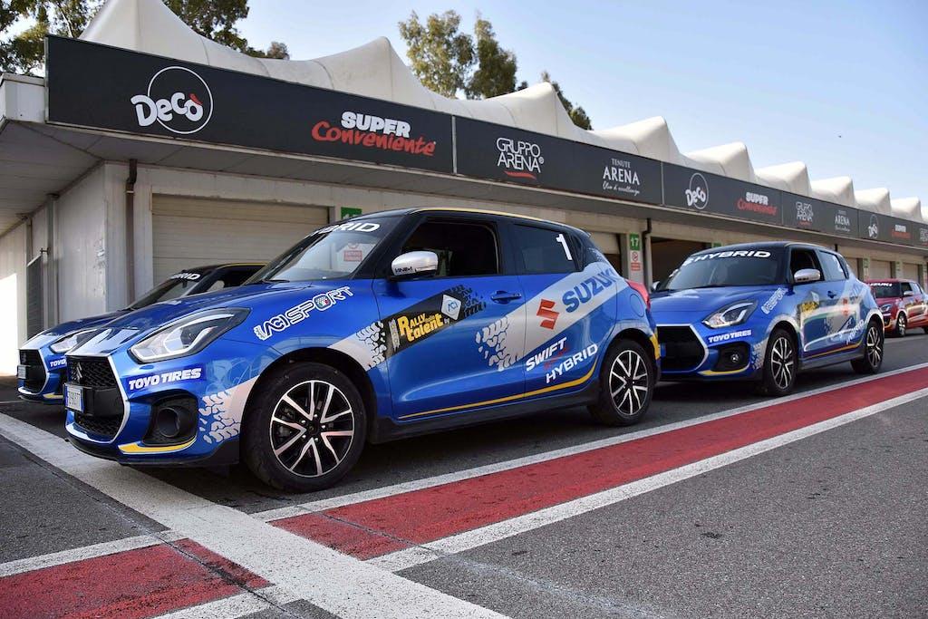 Suzuki Rally Italia Talent 2021