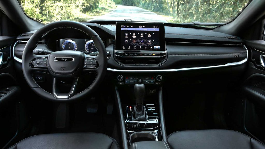 nuova jeep compass plancia