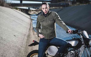 giacca moto donna segura-LADY-MAYA
