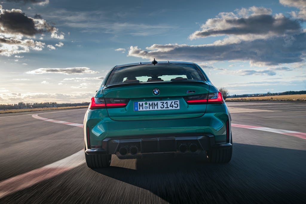 prova in pista BMW M3