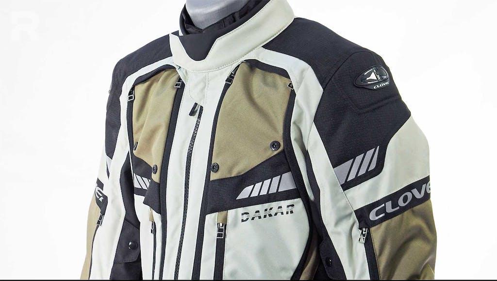 Sotto la lente Clover Dakar 2, la giacca per l'adventouring