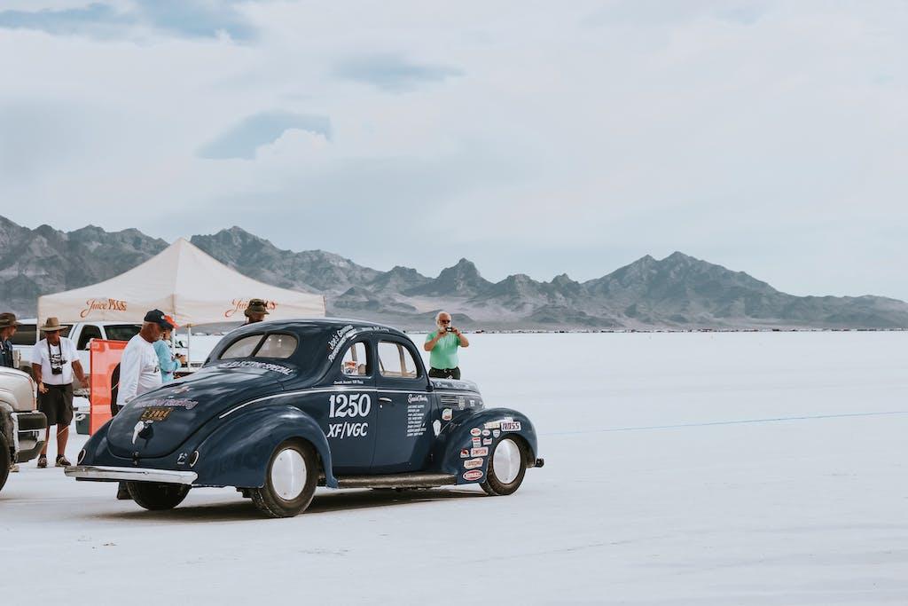 Bonneville Speed Week deserto salato auto pista