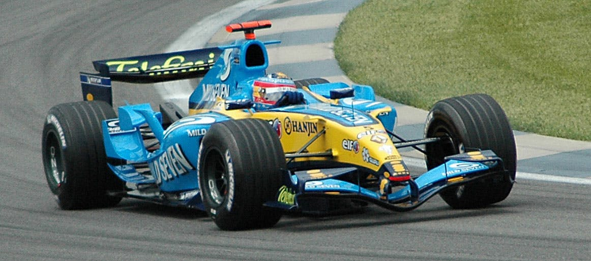 V10 Formula 1 - Renault R25 Alonso