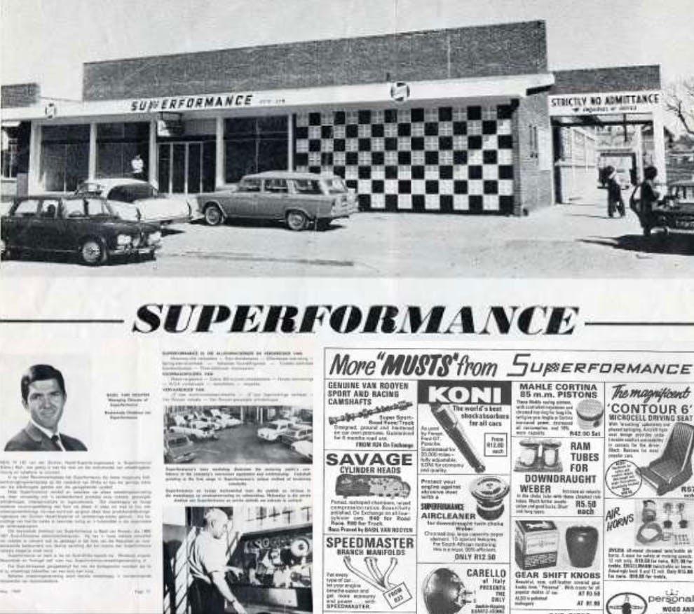Basil Van Rooyen - Superformance