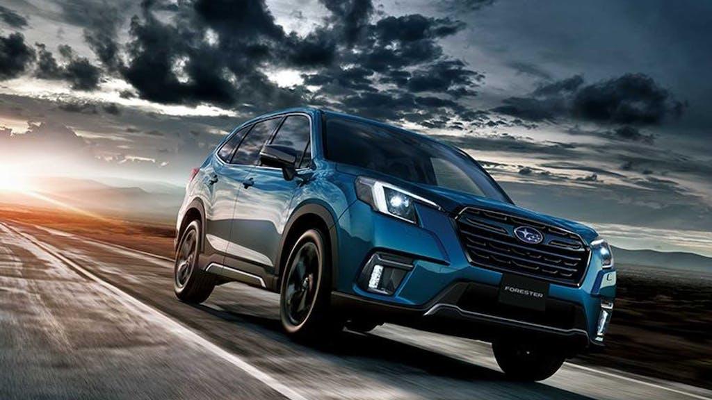 Subaru Forester 2022, i dettagli del restyling