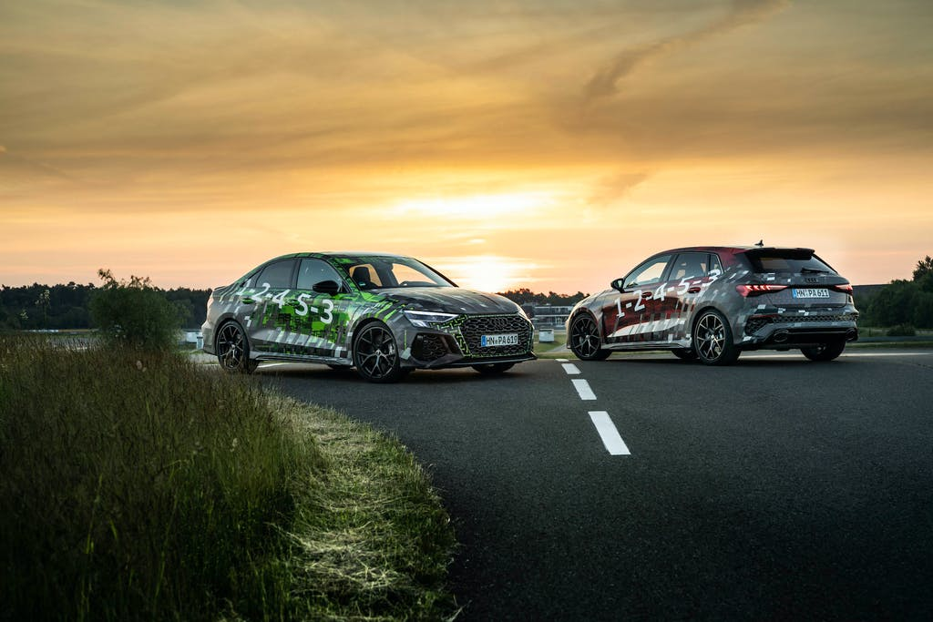 nuove Audi RS 3 Sportback e Sedan