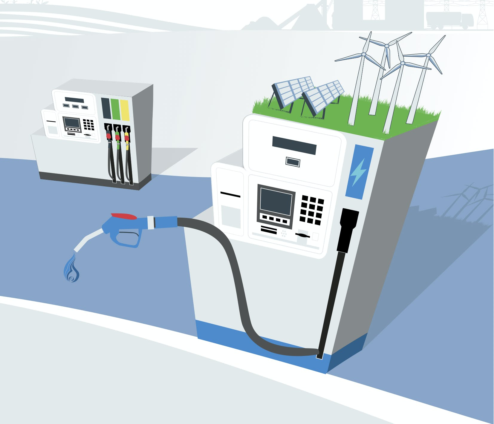 E-fuel nel settore dei trasporti