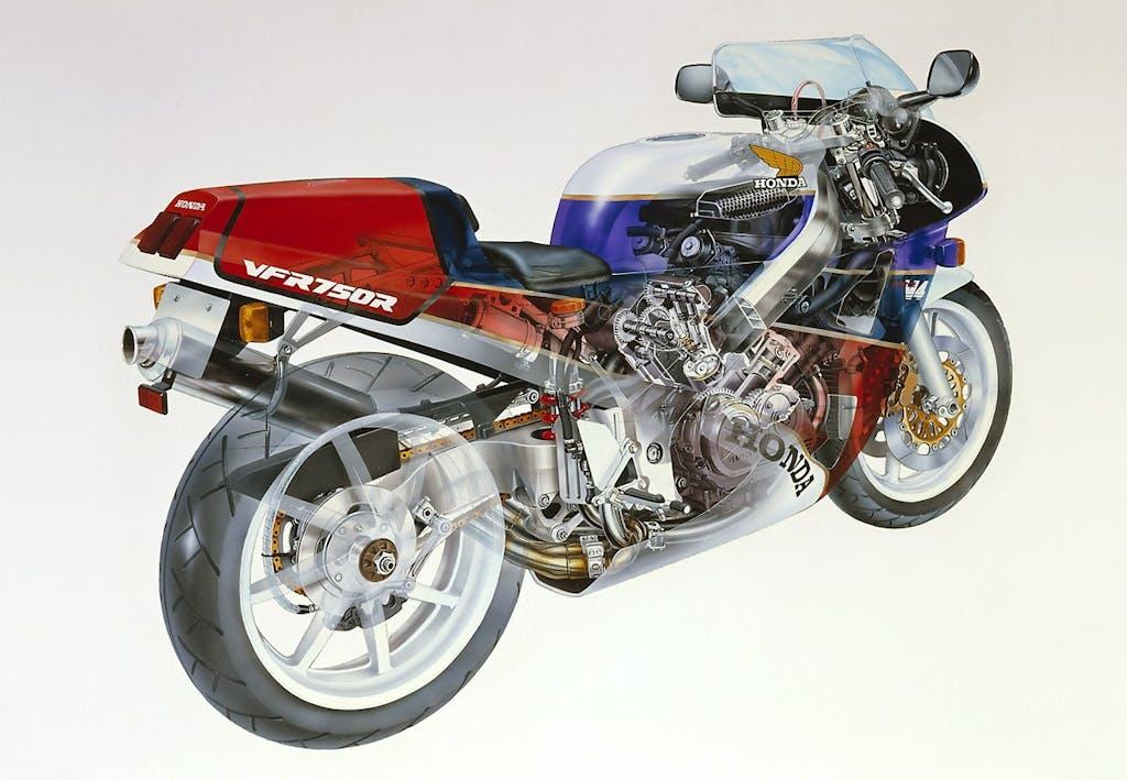Honda RC30, arrivano i ricambi originali