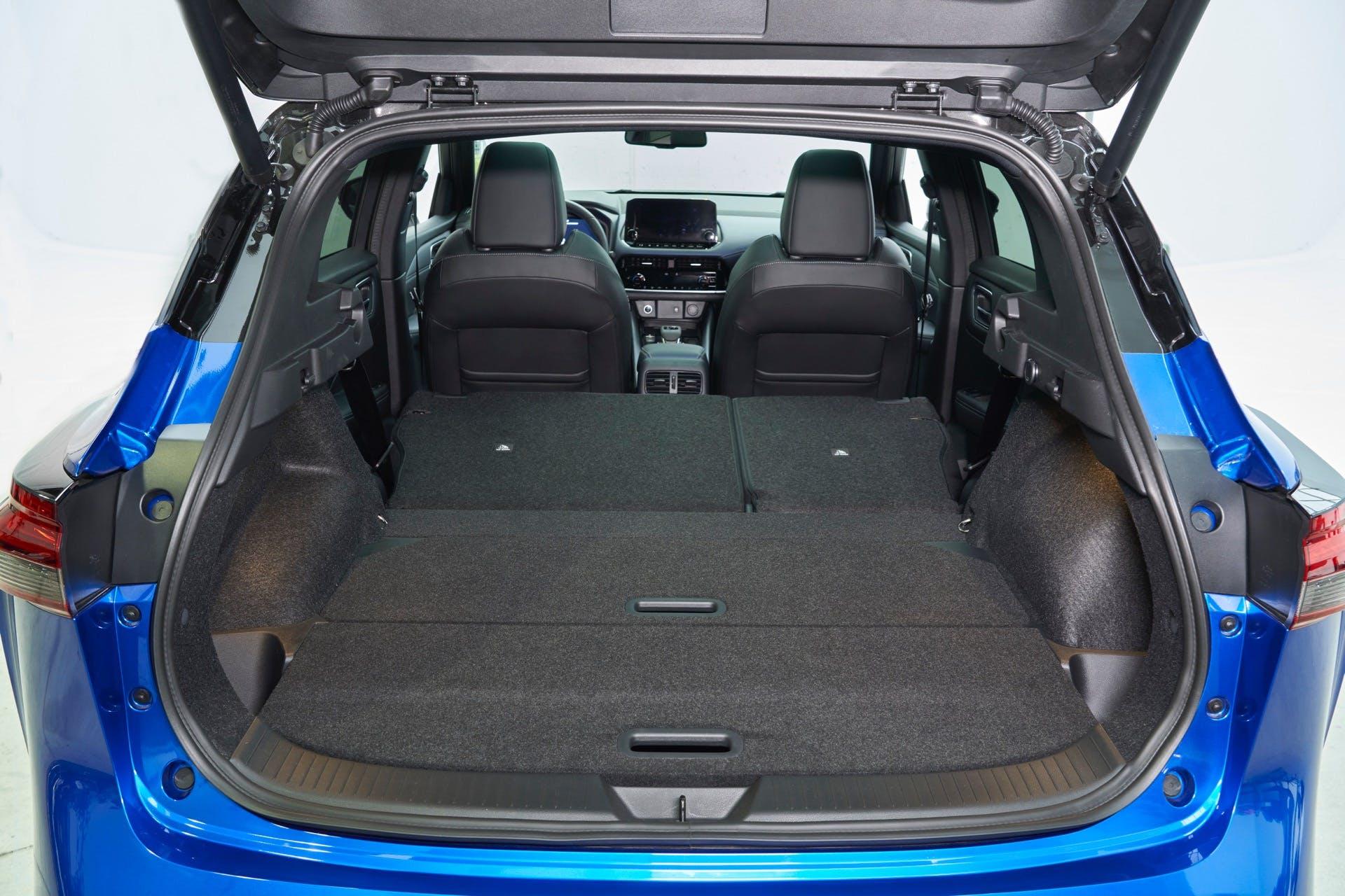Nissan Qashqai 2022 bagagliaio