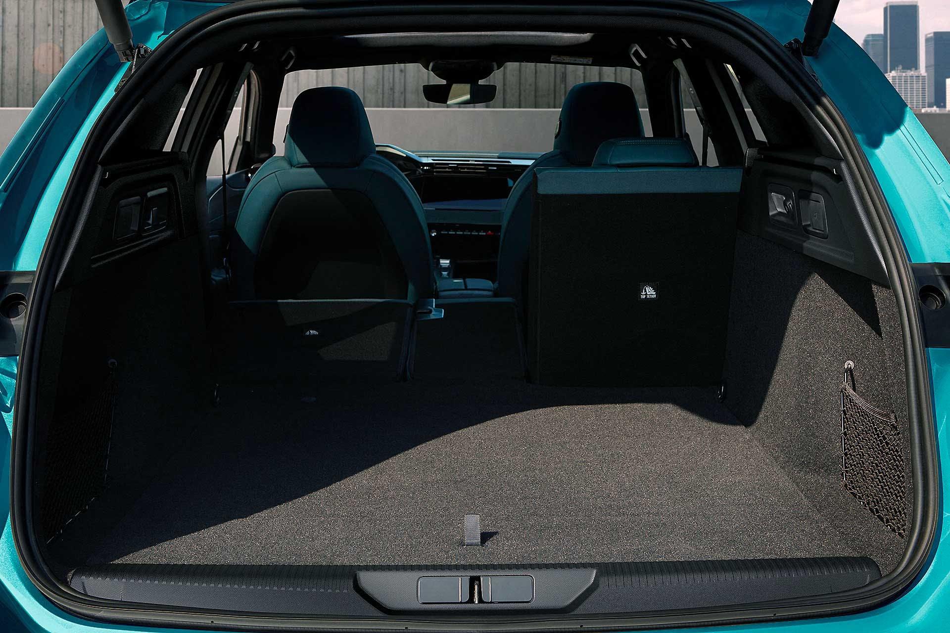 Nuova Peugeot 308 SW 2021 bagagliaio