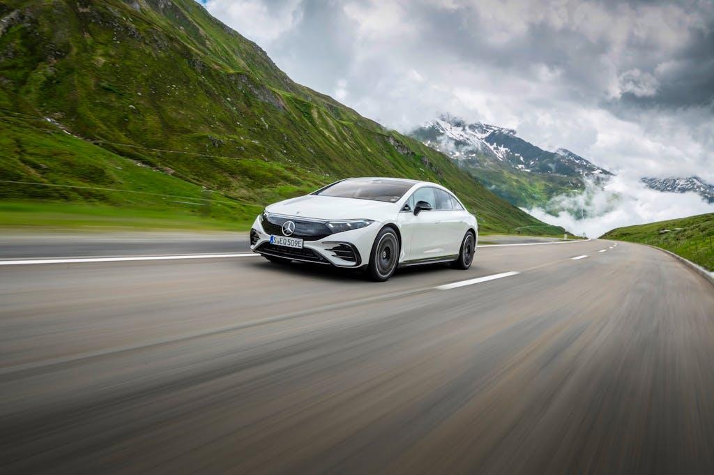 Mercedes EQS prova