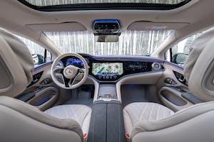 prova Mercedes EQS