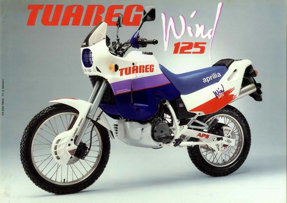 Aprilia Tareg 125 - 1989