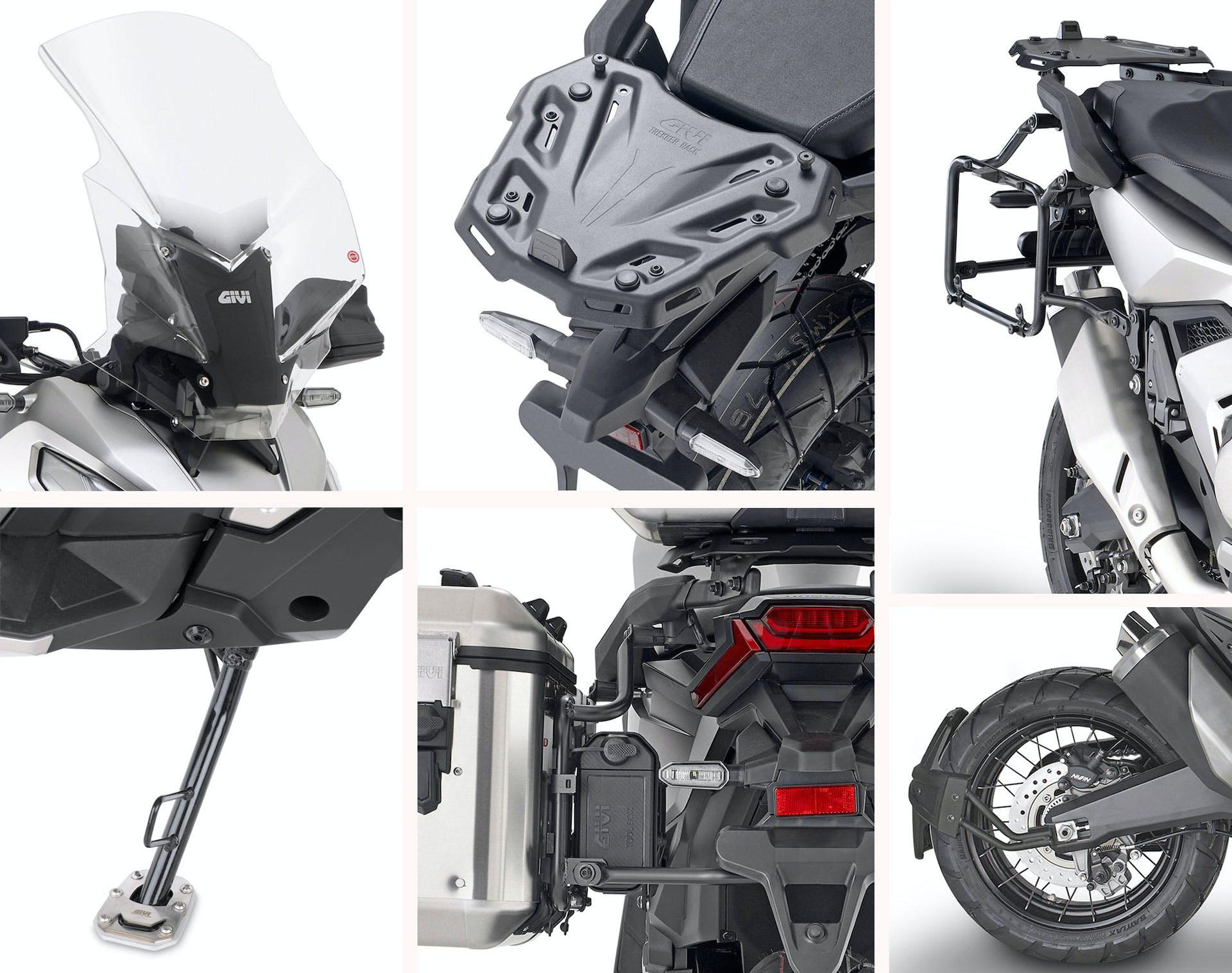 Gamma accessori GIVI per Honda X-ADV