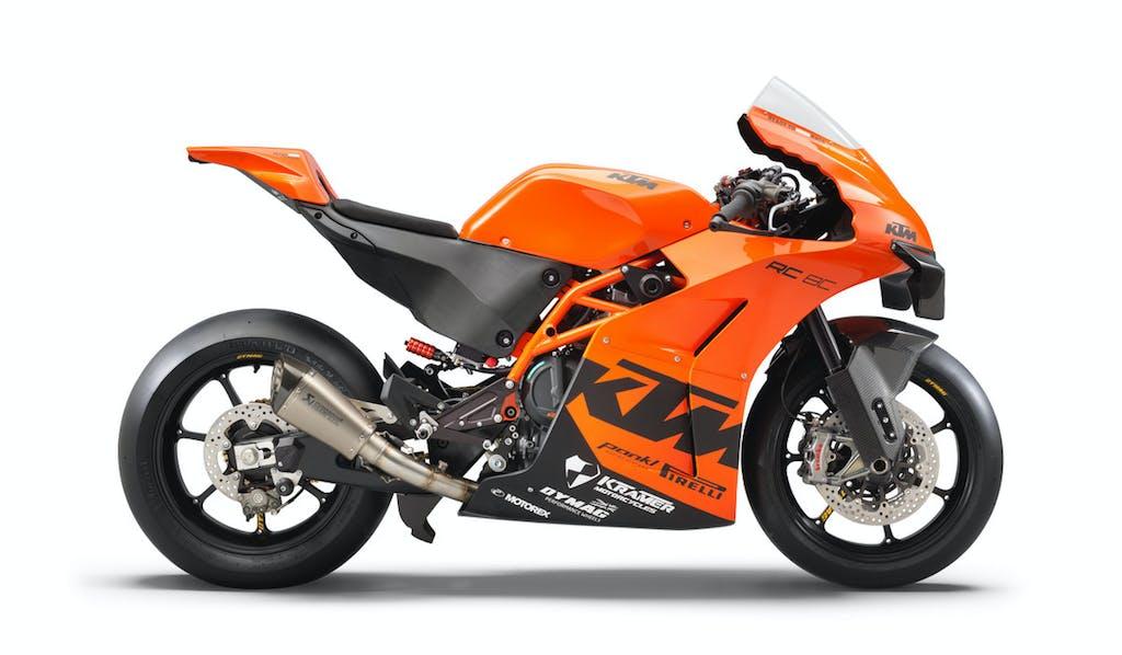 KTM RC 8C: essenzialità racing