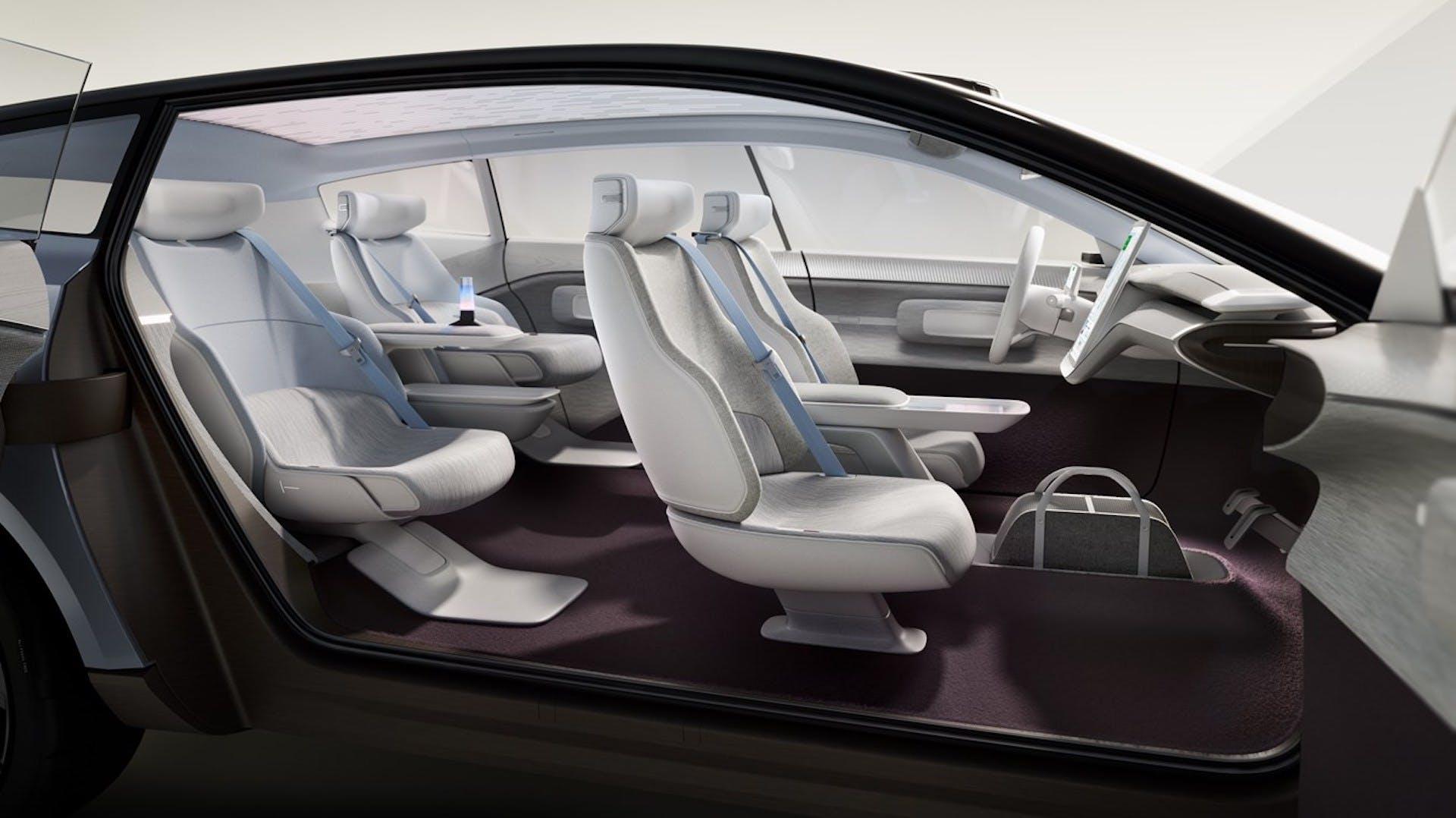Volvo Concept Recharge - foto studio interni