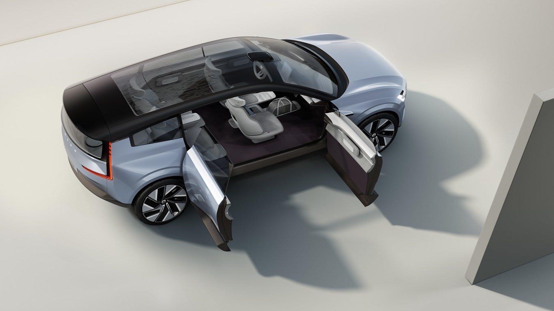 Volvo Concept Recharge - foto studio