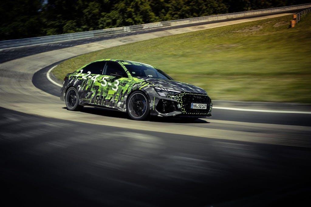 """Audi RS3, record (e """"trucchi"""", non solo di Audi) di categoria al Nürburgring"""