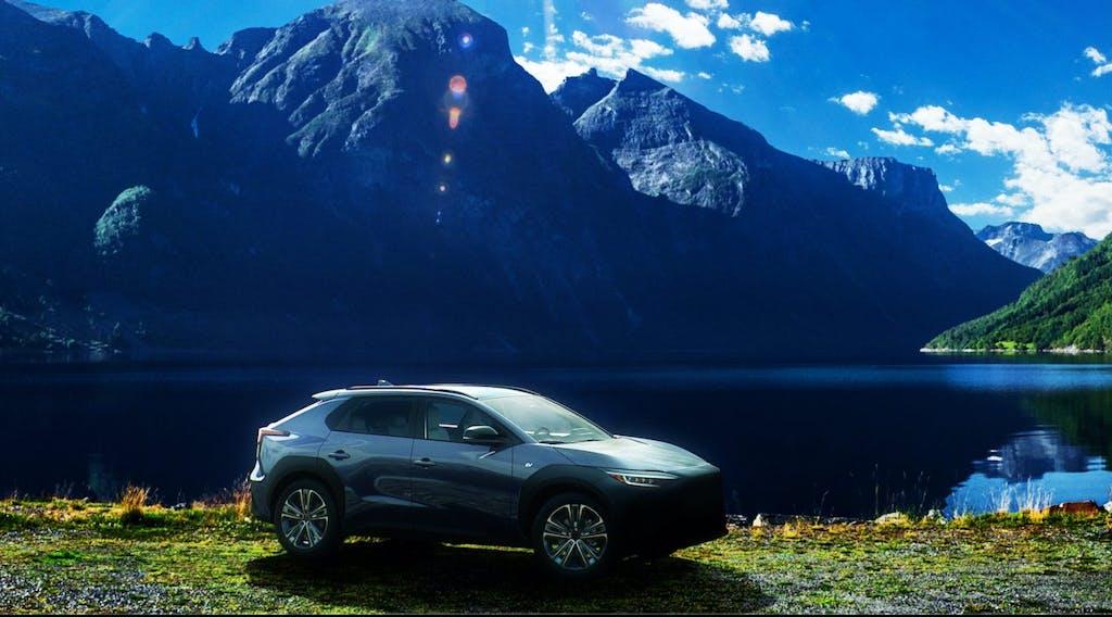 Subaru Solterra, nuove foto del SUV elettrico