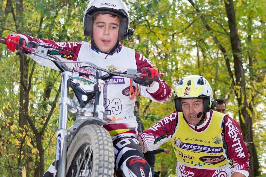 Michele Oberburger, quando la moto sconfigge l'autismo