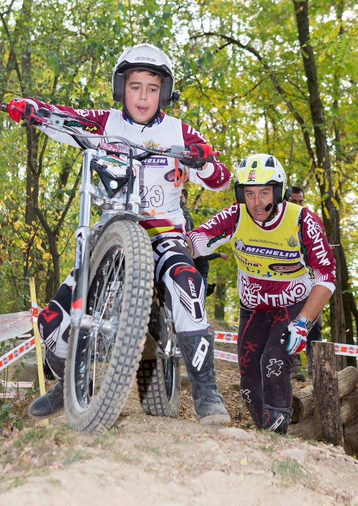 Michele Oberburger trial gara campionato moto