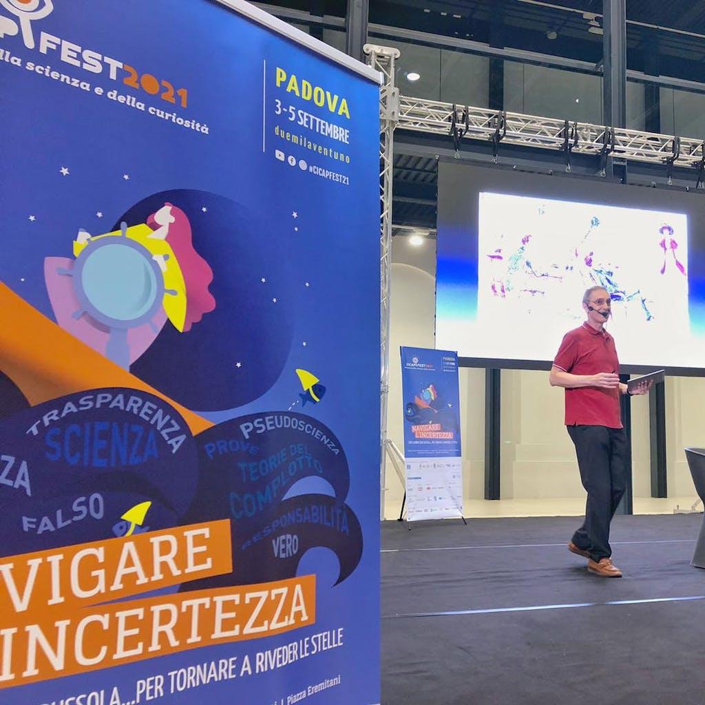 Paolo Attivissimo conferenza CICAP Fest